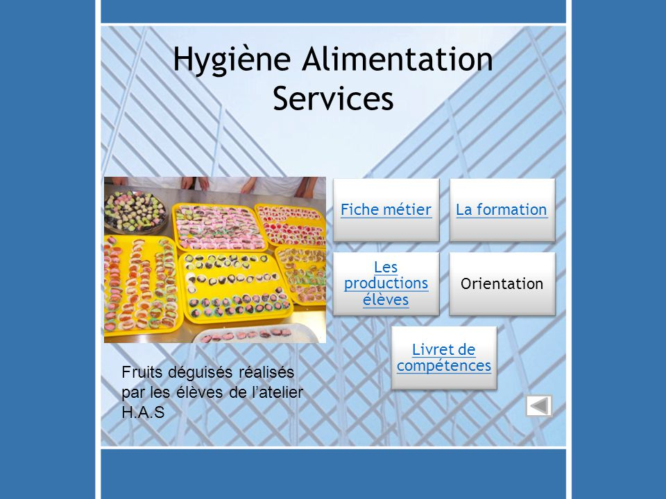 Hygiène Alimentation Services