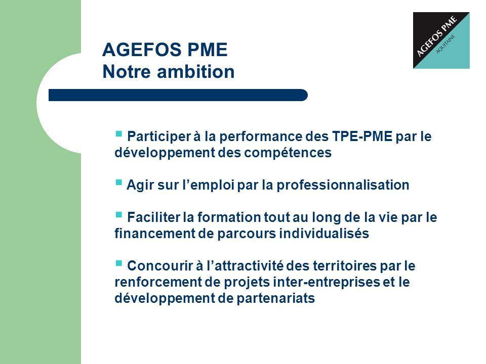 AGEFOS PME Notre ambition