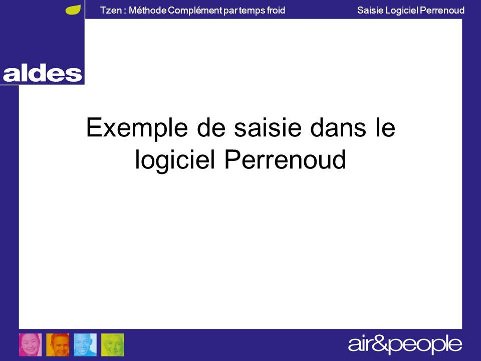 Exemple de saisie dans le logiciel Perrenoud