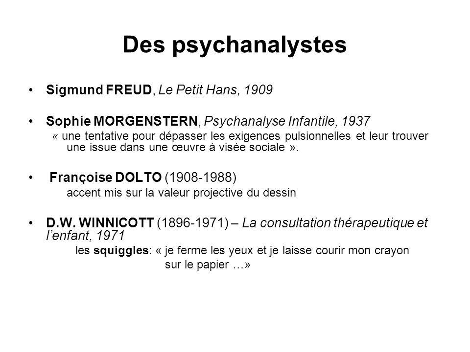Des psychanalystes Sigmund FREUD, Le Petit Hans, 1909