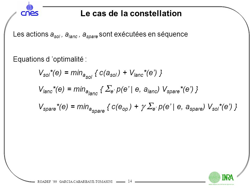 Le cas de la constellation