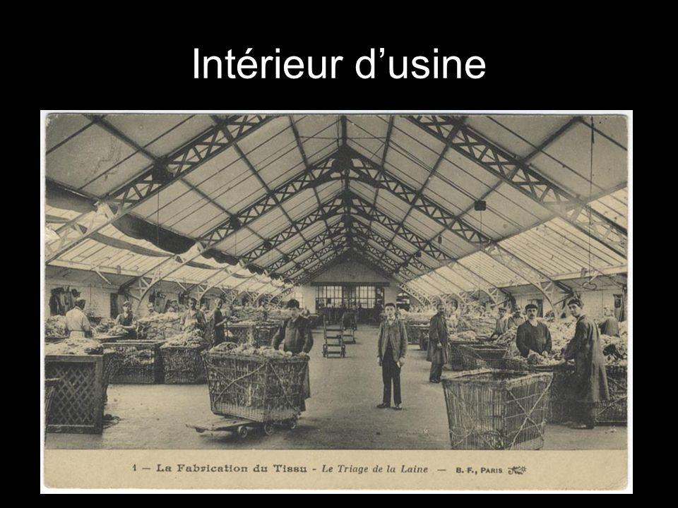 Intérieur d'usine