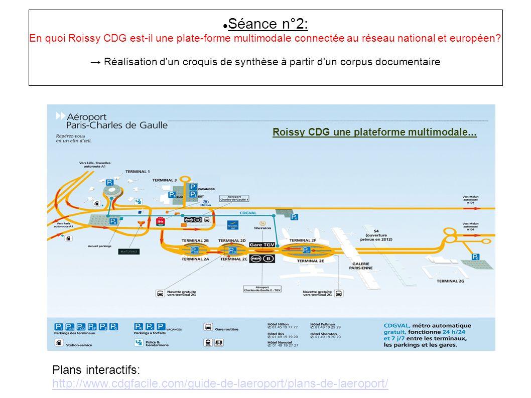 Roissy CDG une plateforme multimodale...