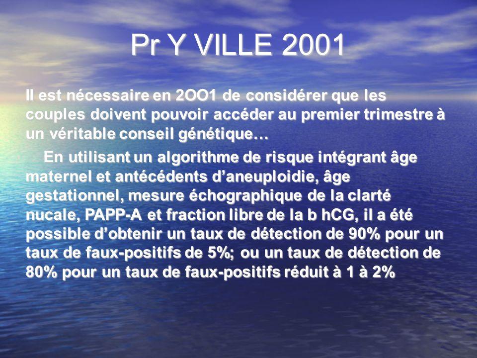 Pr Y VILLE 2001