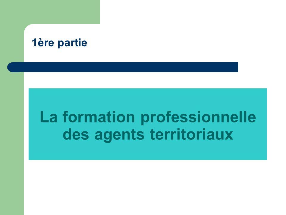 La formation professionnelle des agents territoriaux