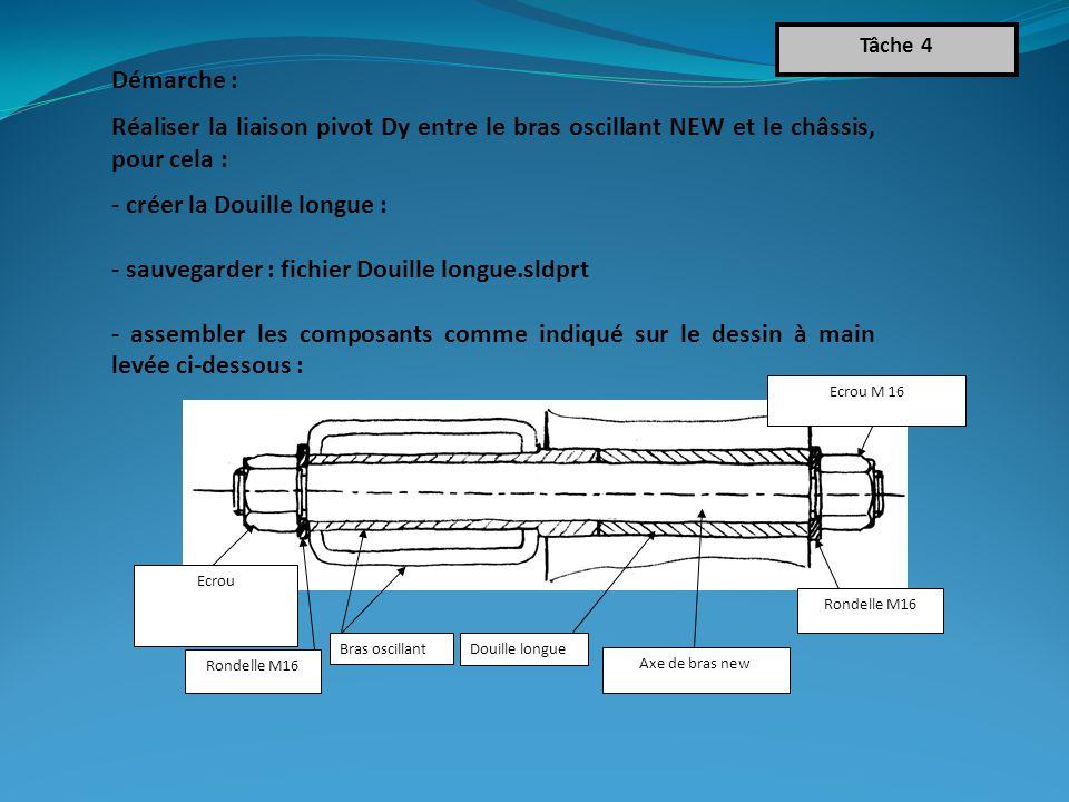 - créer la Douille longue :