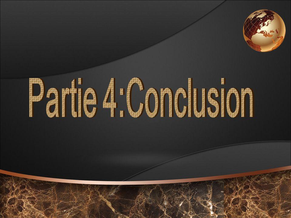 Partie 4:Conclusion