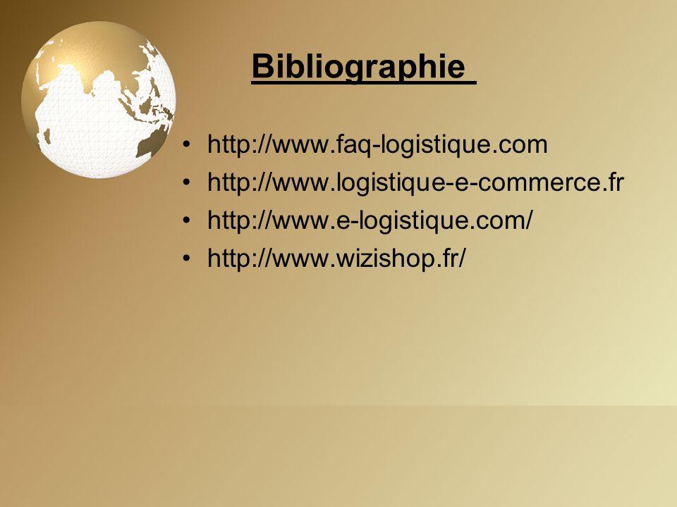 Bibliographie http://www.faq-logistique.com