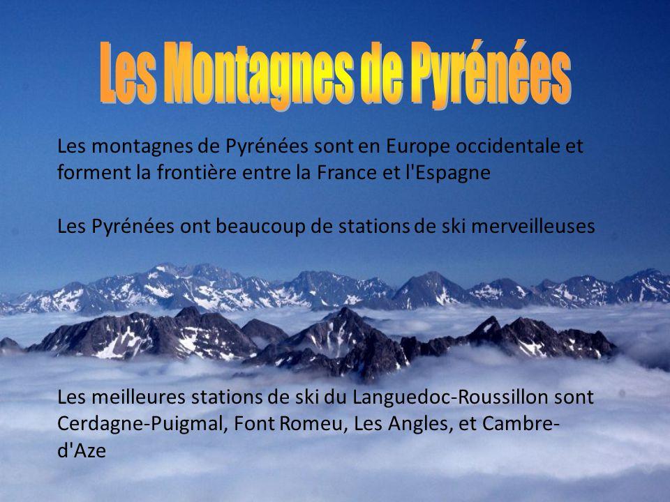 Les Montagnes de Pyrénées