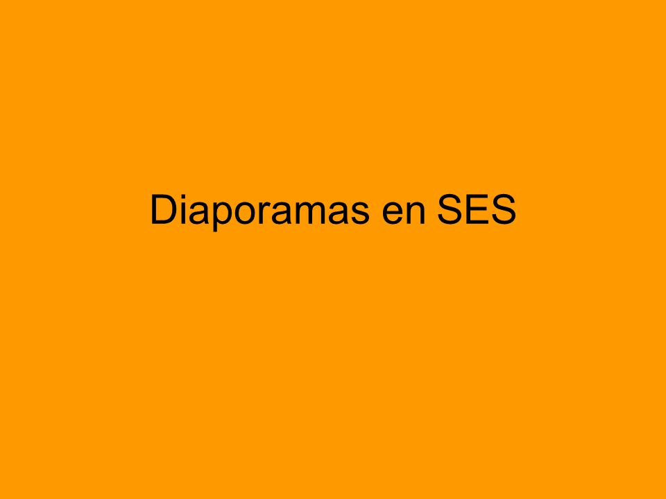 Diaporamas en SES