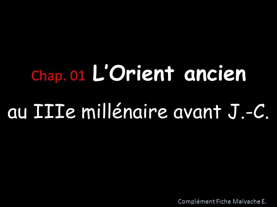 au IIIe millénaire avant J.-C.