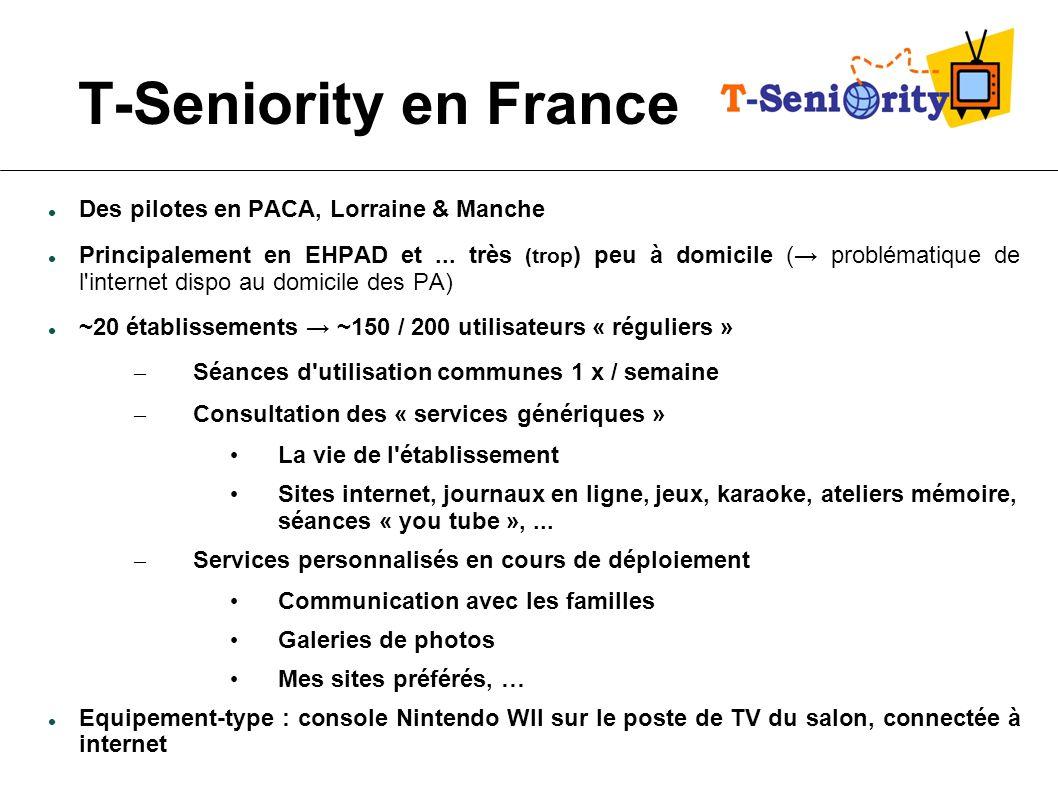 T-Seniority en France Des pilotes en PACA, Lorraine & Manche