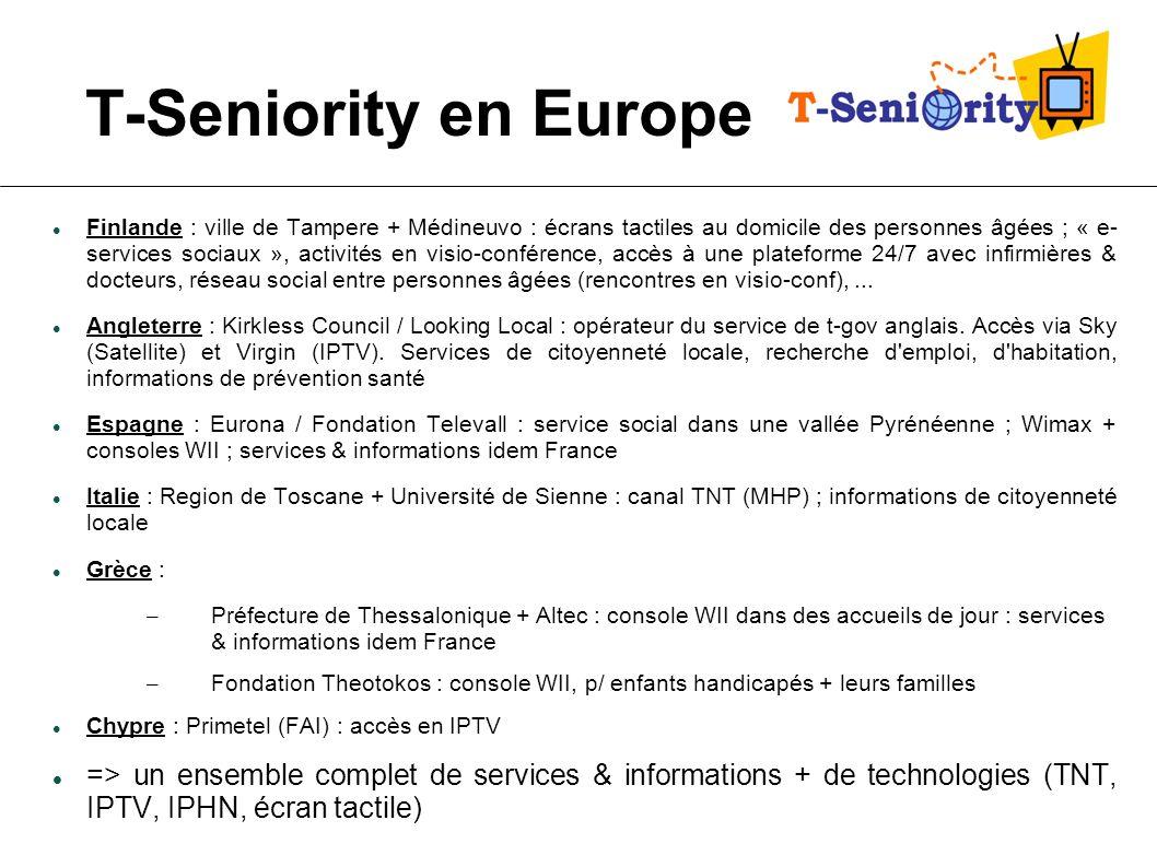 T-Seniority en Europe