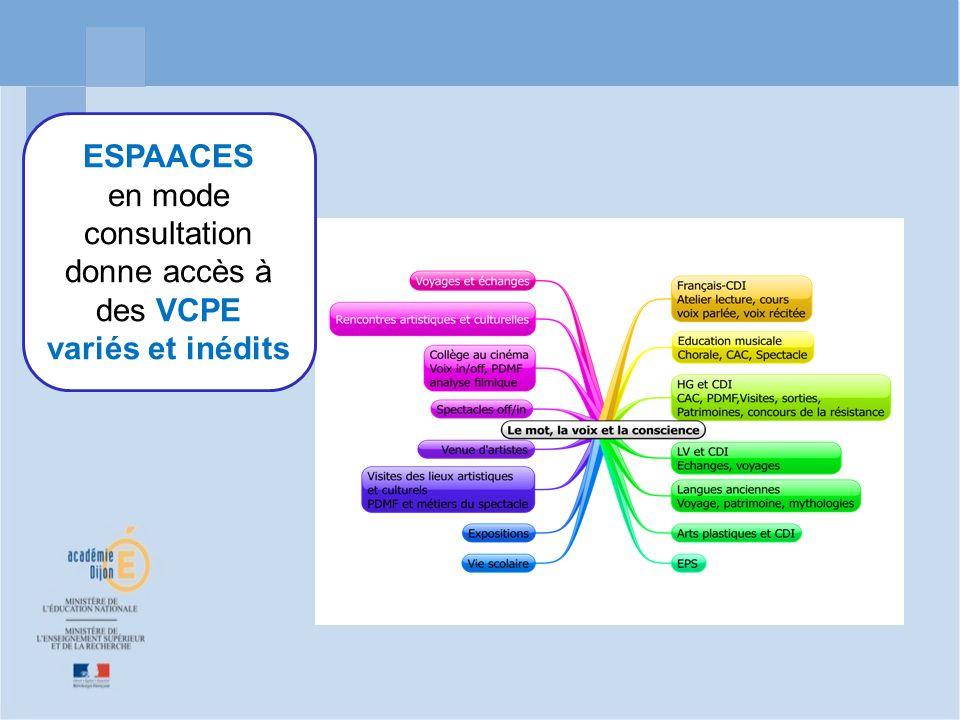 donne accès à des VCPE variés et inédits