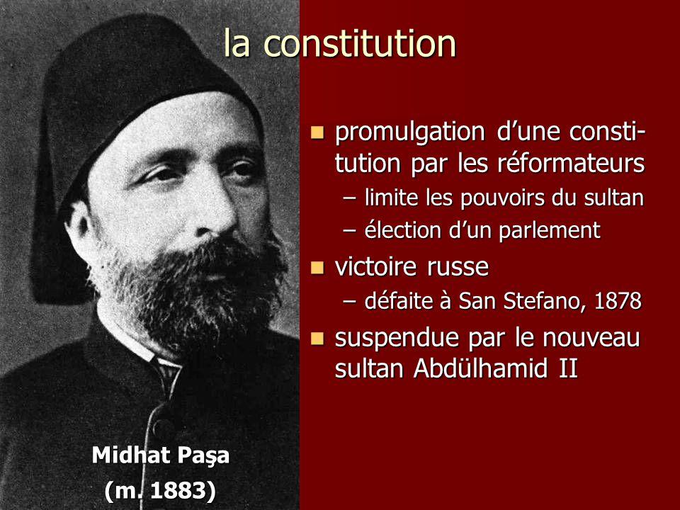 la constitution promulgation d'une consti-tution par les réformateurs