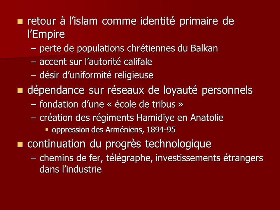 retour à l'islam comme identité primaire de l'Empire