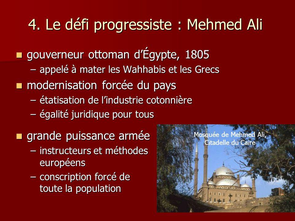 4. Le défi progressiste : Mehmed Ali