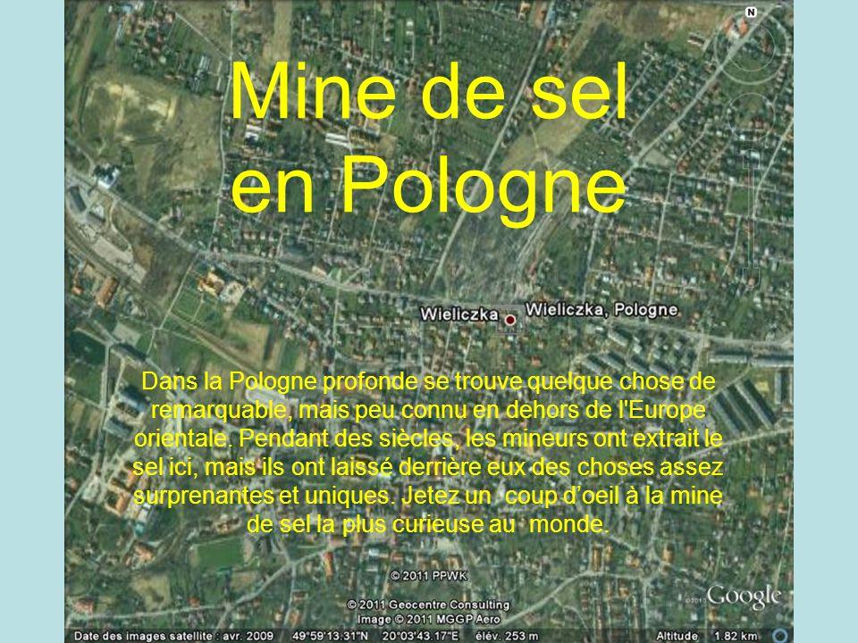 Mine de sel en Pologne Mine de sel Polonaise