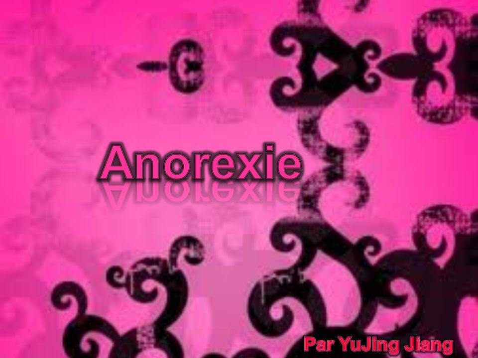 Anorexie Par YuJing Jiang