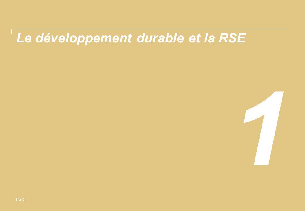 Le développement durable et la RSE