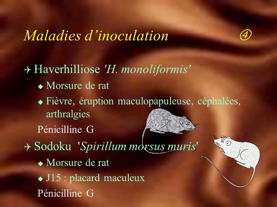Maladies d'inoculation 