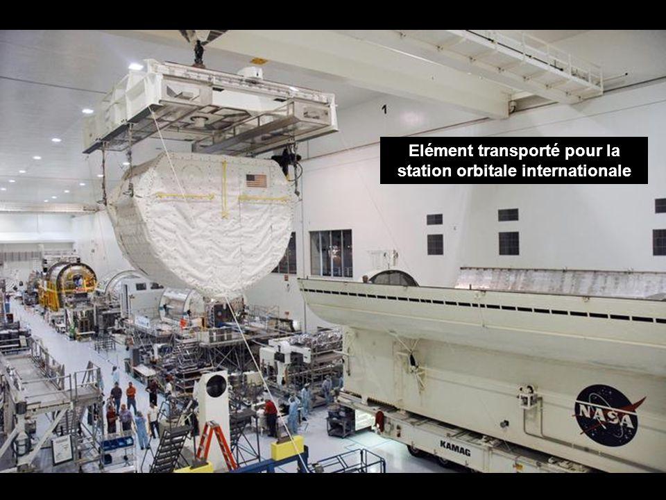 Elément transporté pour la station orbitale internationale