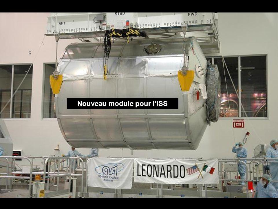 Nouveau module pour l ISS