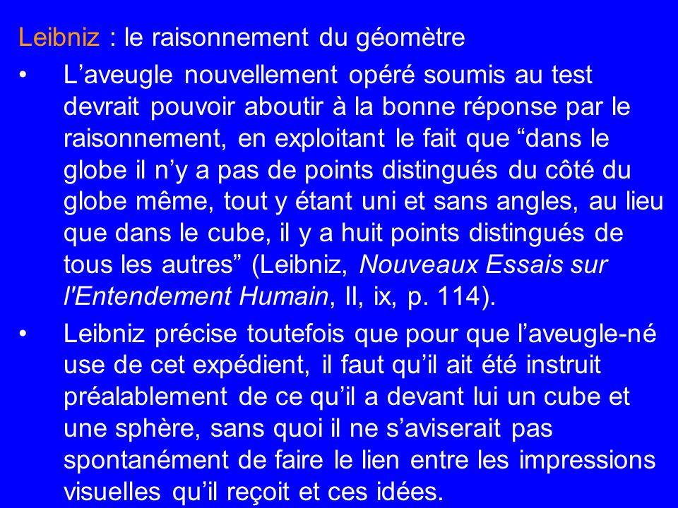 Leibniz : le raisonnement du géomètre