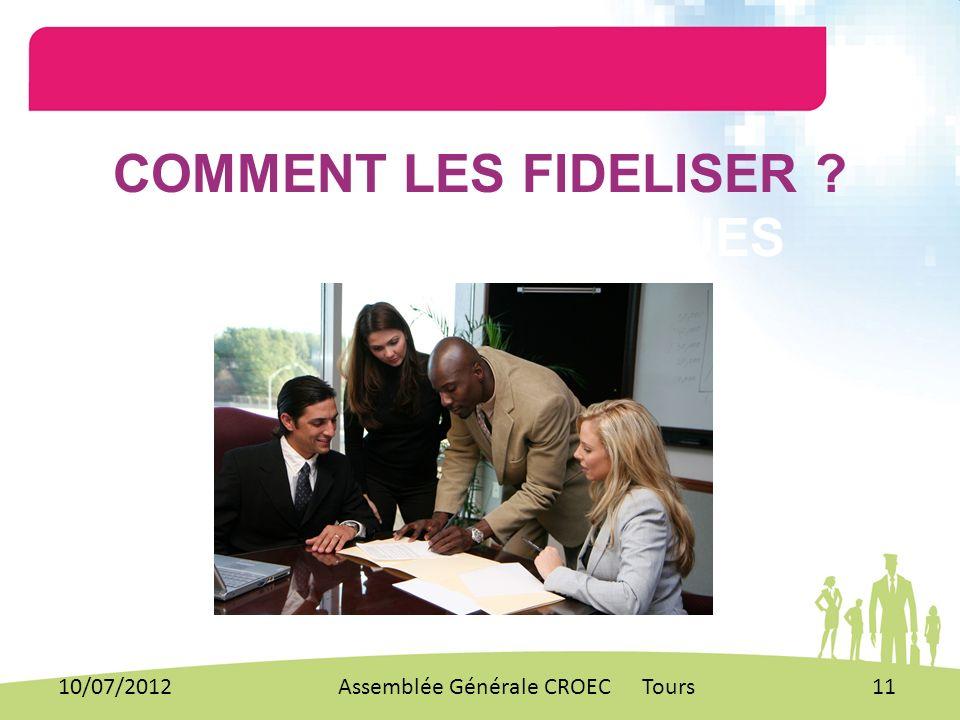 COMMENT LES FIDELISER MANAGENS TECHNIQUES