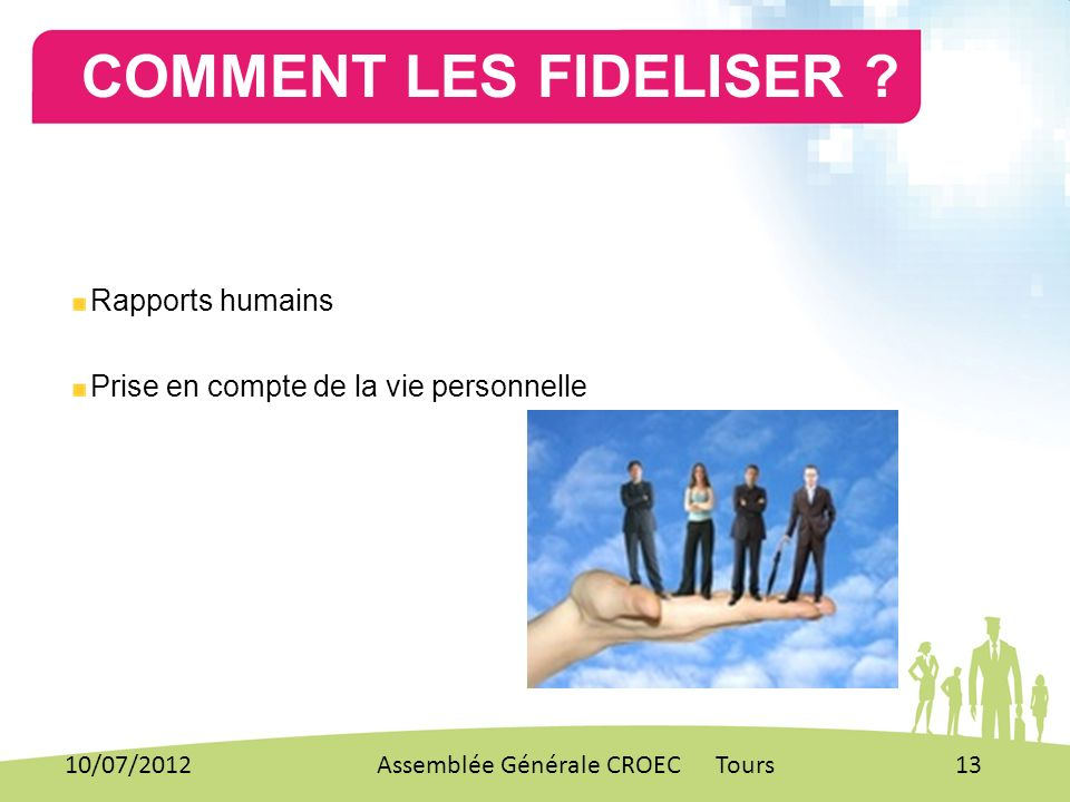 RECRUTEMENT/MANAGEMENT