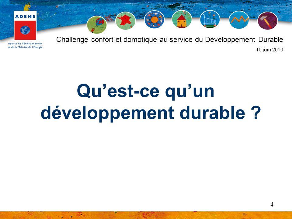 Qu'est-ce qu'un développement durable