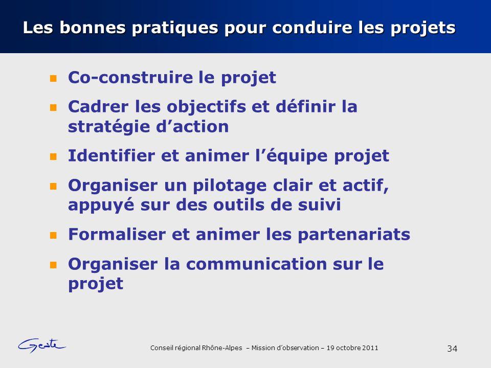 Les bonnes pratiques pour conduire les projets