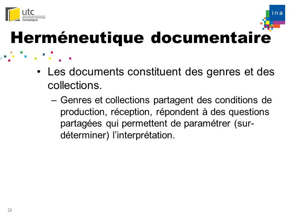 Herméneutique documentaire