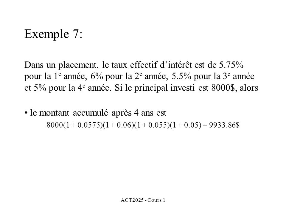 Exemple 7: