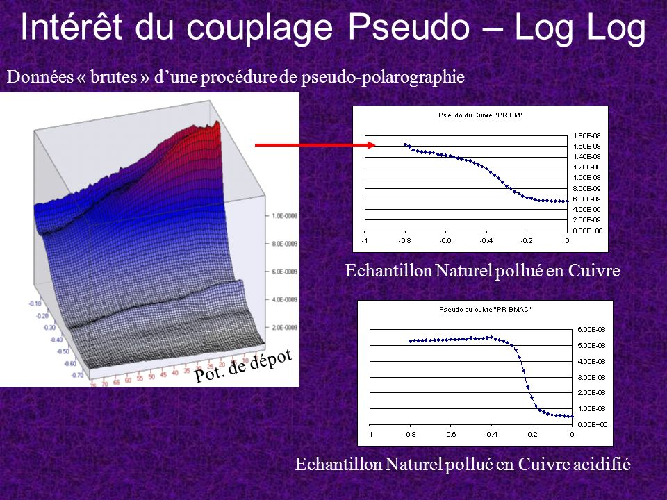 Intérêt du couplage Pseudo – Log Log