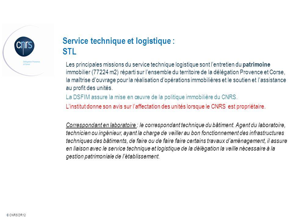 Service technique et logistique : STL