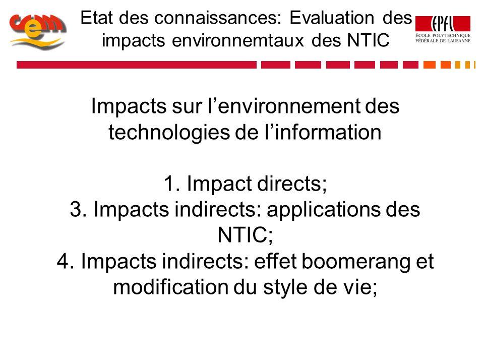 Impacts sur l'environnement des technologies de l'information