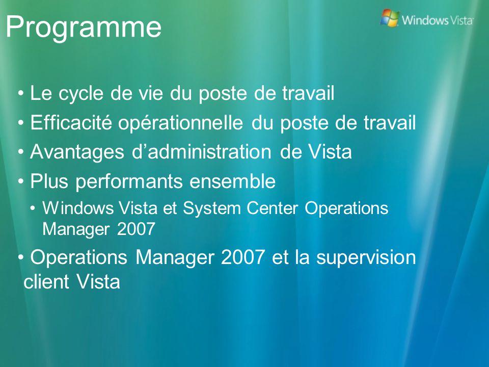 Programme Le cycle de vie du poste de travail