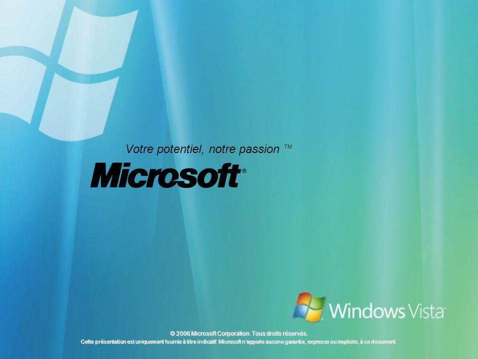 © 2006 Microsoft Corporation. Tous droits réservés.