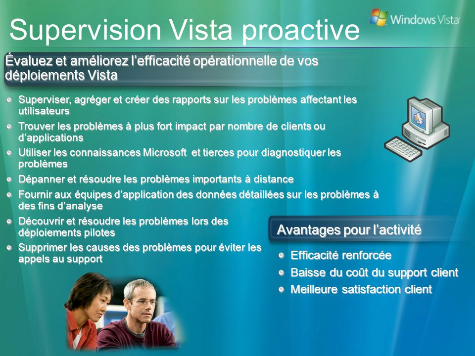 Supervision Vista proactive
