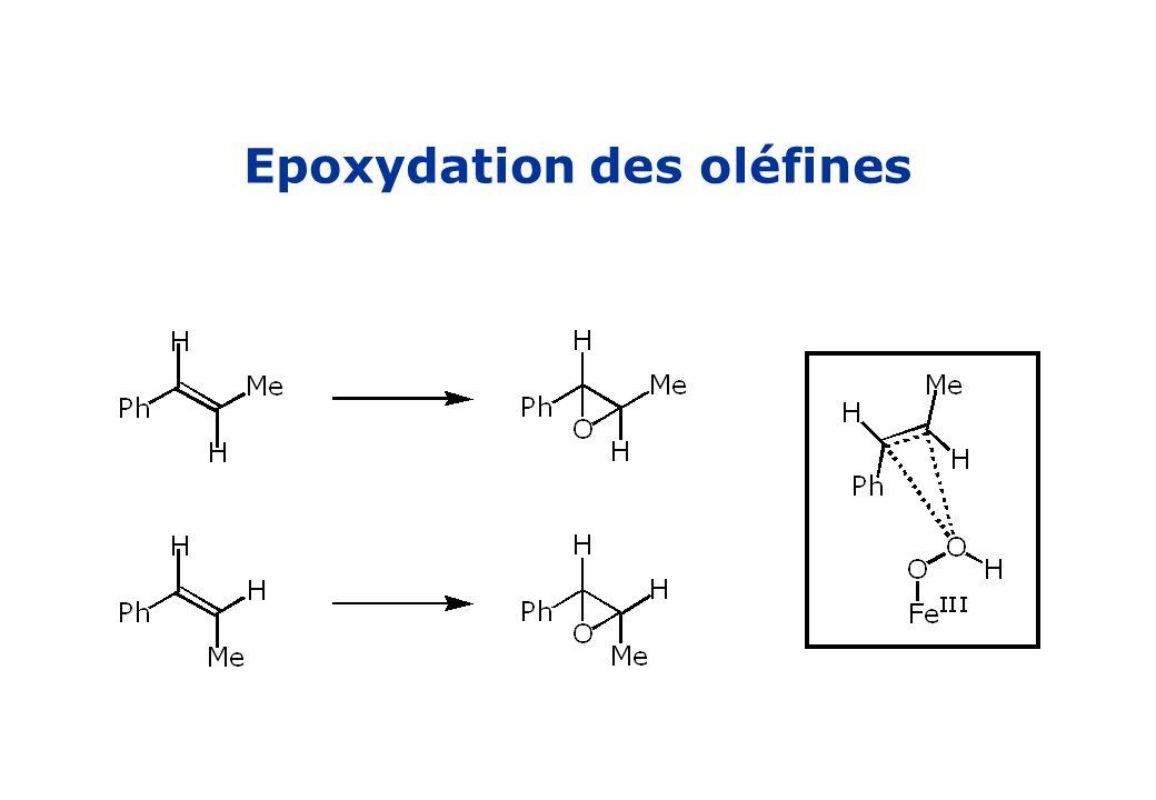 Epoxydation des oléfines