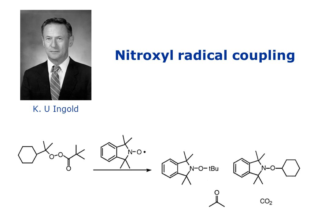 Nitroxyl radical coupling