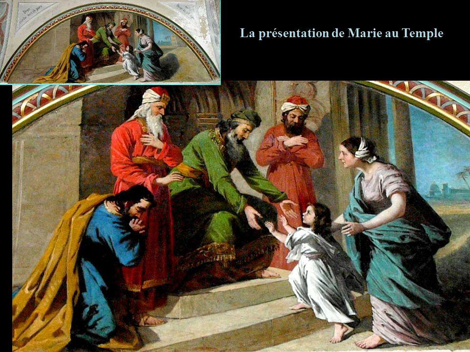 La présentation de Marie au Temple