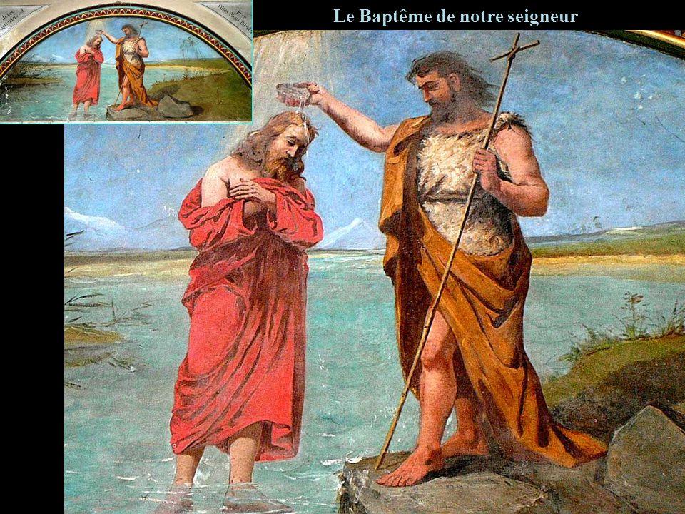 Le Baptême de notre seigneur