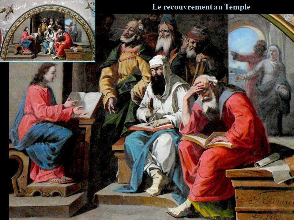 Le recouvrement au Temple
