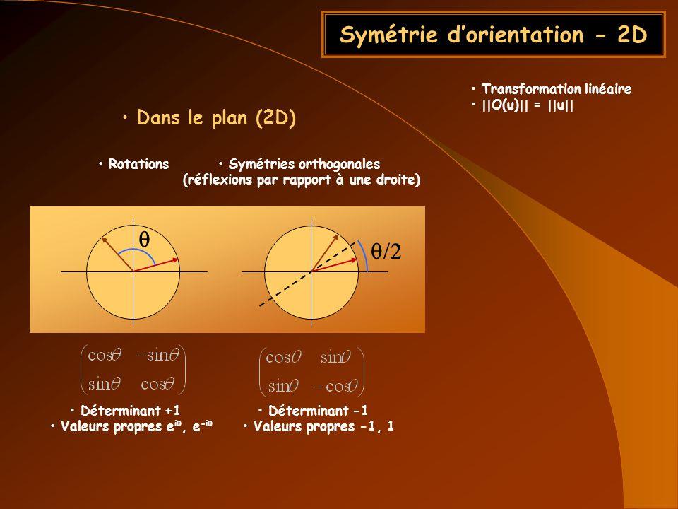 Symétrie d'orientation - 2D