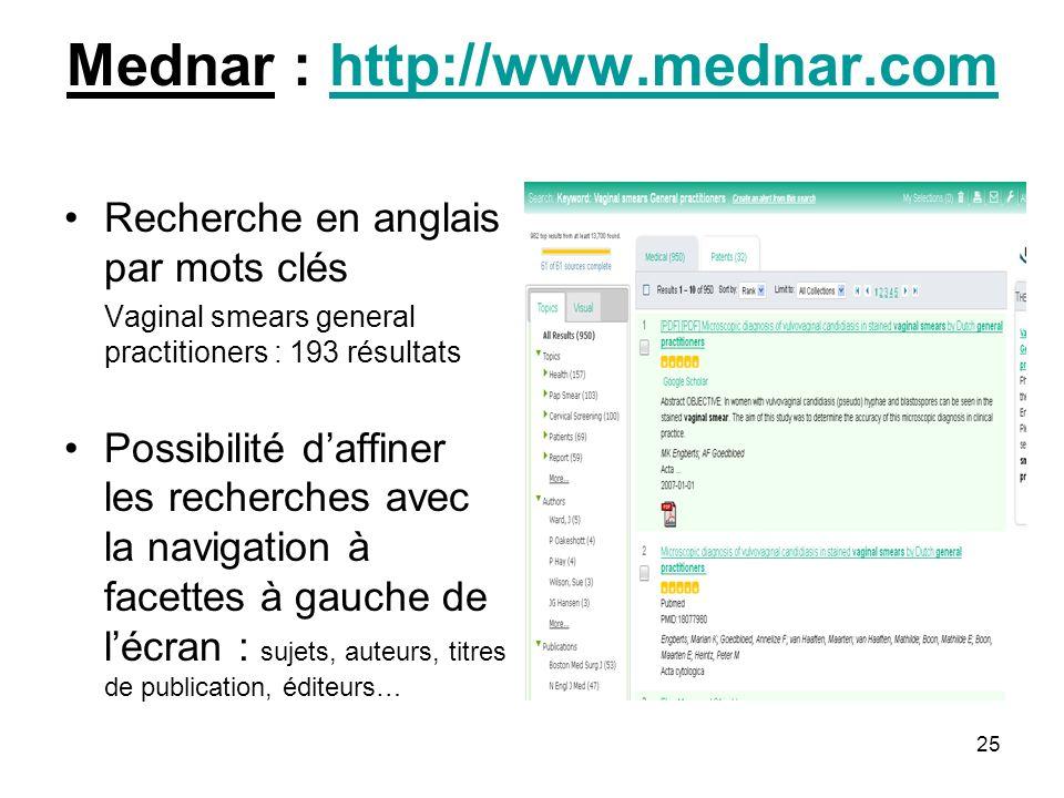 Mednar : http://www.mednar.com