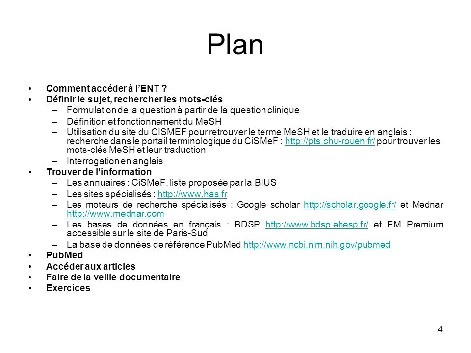 Plan Comment accéder à l'ENT