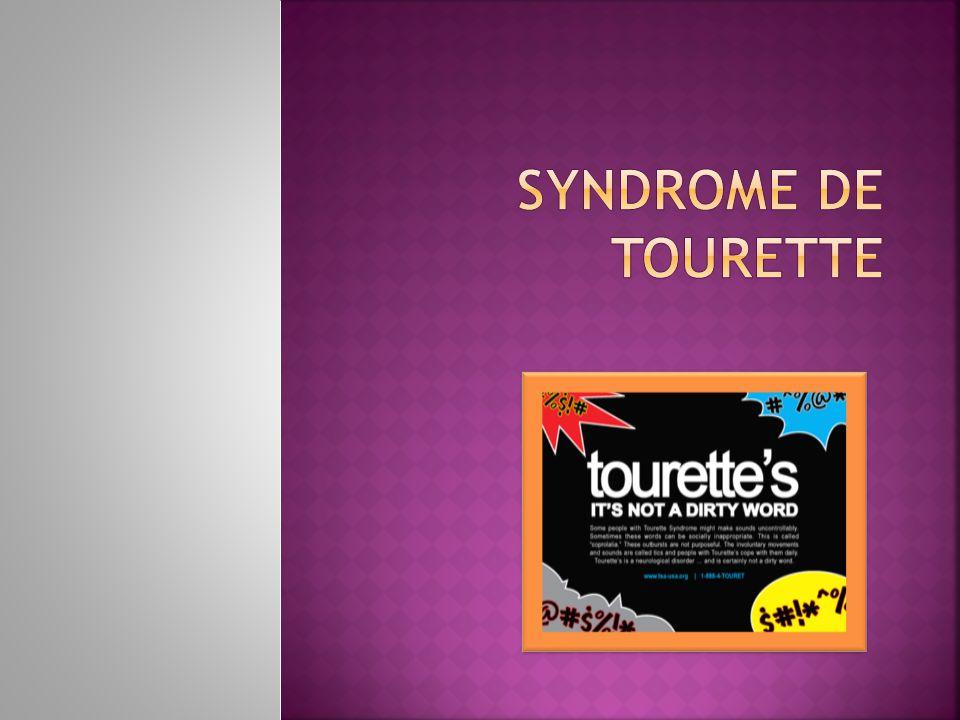 Syndrome de Tourette