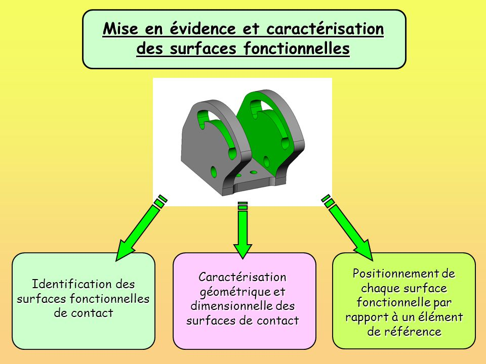 Mise en évidence et caractérisation des surfaces fonctionnelles